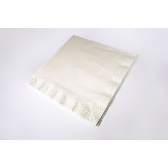 48cm 4Ply Napkins White Pack of 125 SWA 194P