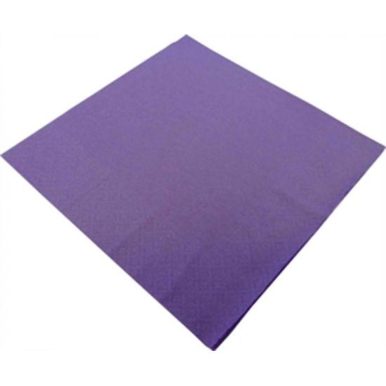 33cm 2Ply Serviettes - Purple Pack of 100 SWA D32P-PUR