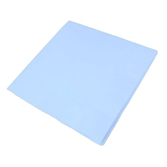 40cm 3Ply Serviettes - Sky Blue Pack of 100 SWA D63P-SB