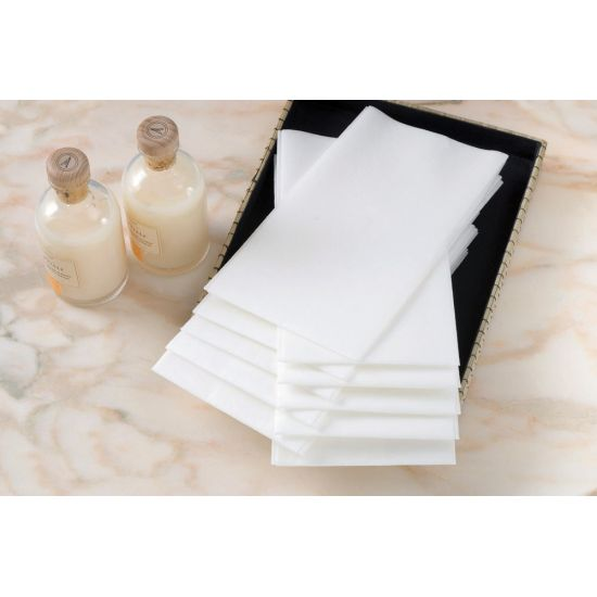 Swansoft Serviette Hand Towel White - 600s Pack of 100 SWA DHT-600
