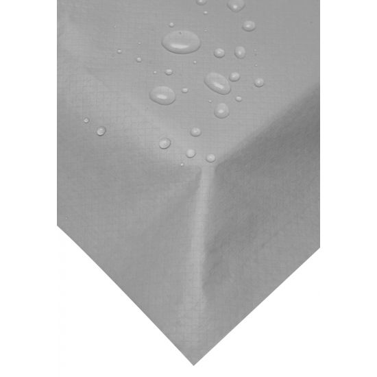 120 x 120cm Swansilk Table Covers - Silver Pack of 10 SWA SLK-TC-SIL
