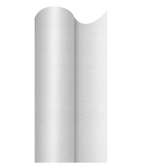 120cm x 40m Swansilk Banquet Roll Plain White Pack of 1 SWA SLKBRPL-W