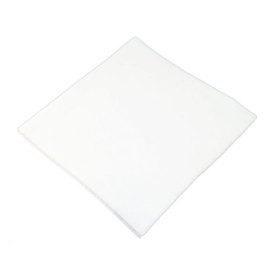 33cm Swansoft Serviettes White Pack of 50 SWA SSOFT-33-W
