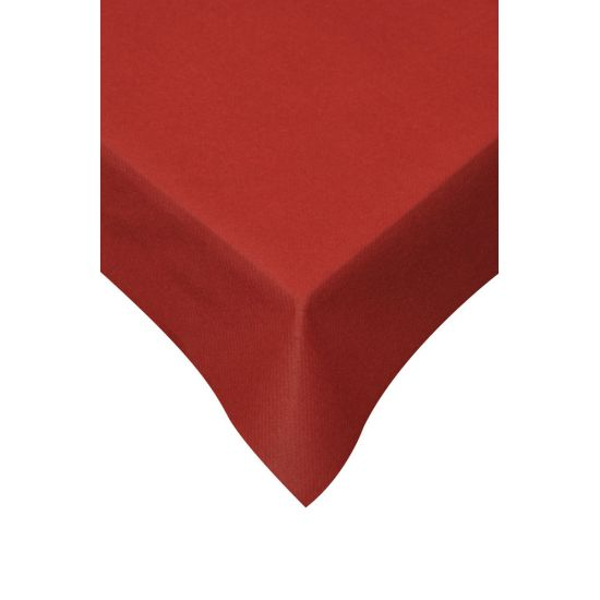 120 x 120cm Swansoft Table Covers - Red Pack of 10 SWA SSOFT-TC-R