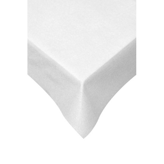 120 x 120cm Swansoft Table Cover White Pack of 10 SWA SSOFT-TC-W