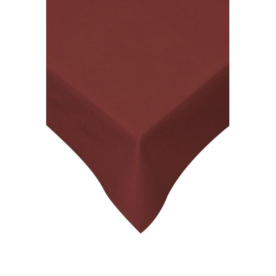 120 x 120cm Swansoft Table Covers - Burgundy Pack of 10 SWA SSOFTTC-BY