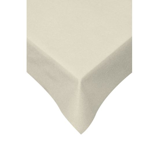 120 x 120cm Swansoft Table Covers - Devon Cream Pack of 10 SWA SSOFTTC-DC