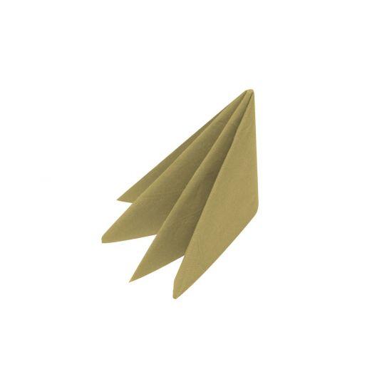 33cm 3Ply Gold Napkins In 1000s Pack of 100 SWA X33-GOL