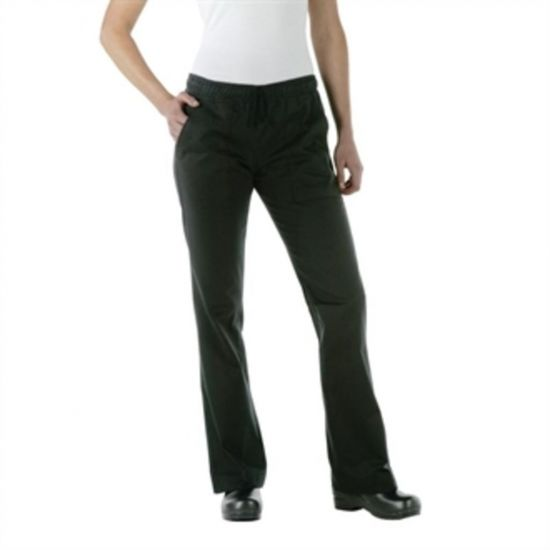 Chef Works Womens Executive Chef Trousers Black XS URO A431-XS