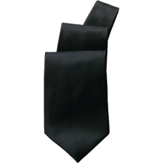 Uniform Works Tie Black URO A585