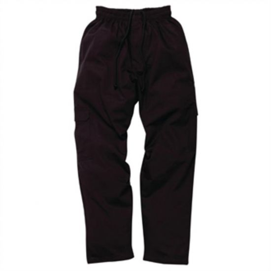 Chef Works Mens J54 Cargo Trousers Black S URO A641-S