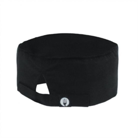 Chef Works Cool Vent Beanie Black URO A704