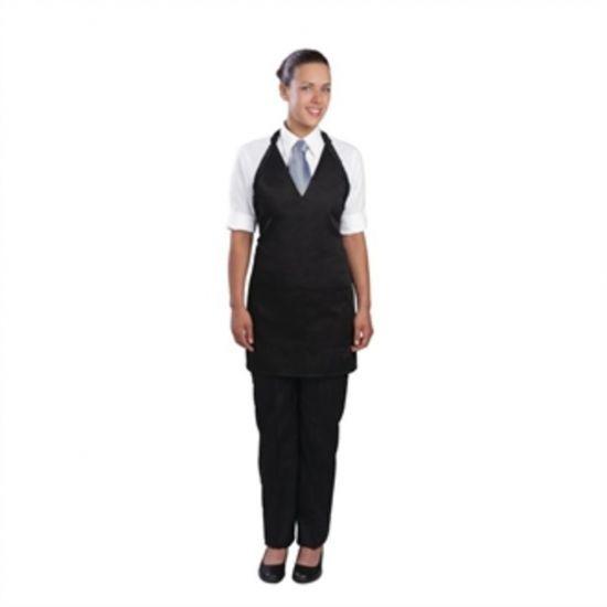 Uniform Works Tuxedo Apron Black URO A709