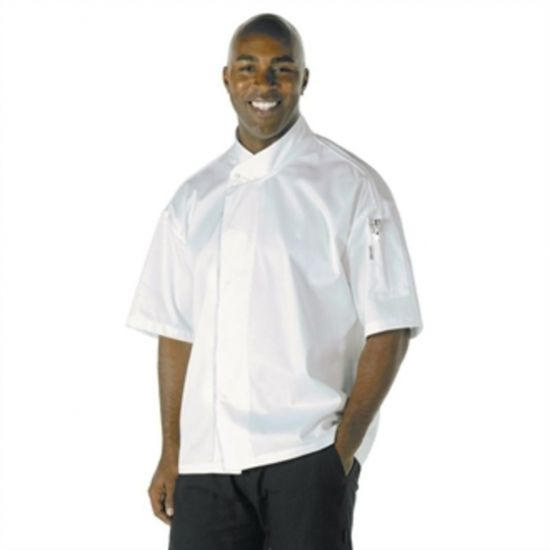 Chef Works Unisex Tours Cool Vent Executive Chefs Jacket 2XL URO A857-XXL