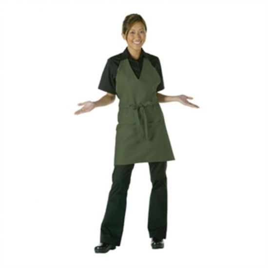 Uniform Works Tuxedo Apron Olive URO A891