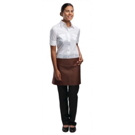 Uniform Works Short Bistro Apron Chocolate URO A900