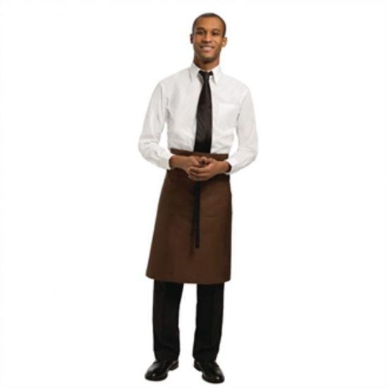 Uniform Works Regular Bistro Apron Chocolate URO A901