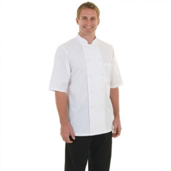 Chef Works Montreal Cool Vent Unisex Chefs Jacket White L URO A914-L