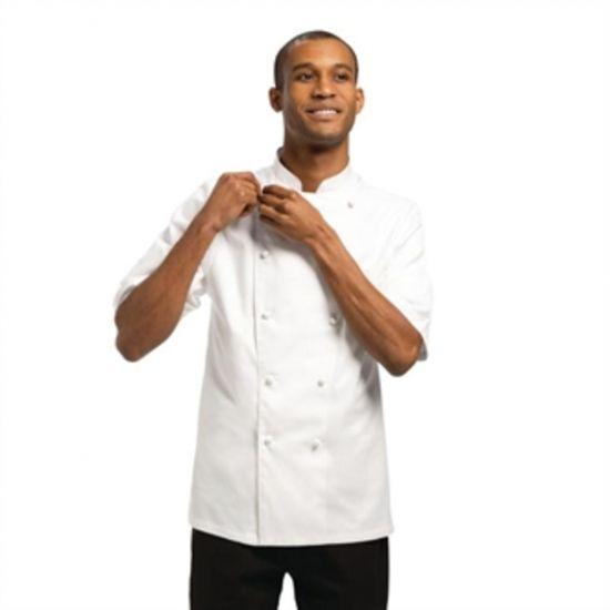 Chef Works Unisex Capri Executive Chefs Jacket White 50 URO A915-50
