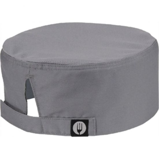 Colour By Chef Works Cool Vent Beanie Grey URO A919