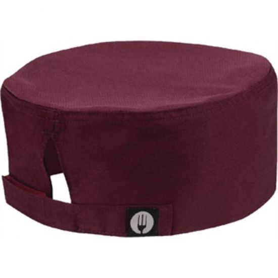 Colour By Chef Works Cool Vent Beanie Merlot URO A920