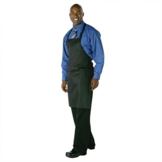 Chef Works Bib Apron Black URO A924