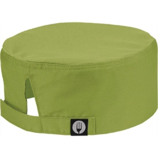 Colour By Chef Works Cool Vent Beanie Lime URO A939
