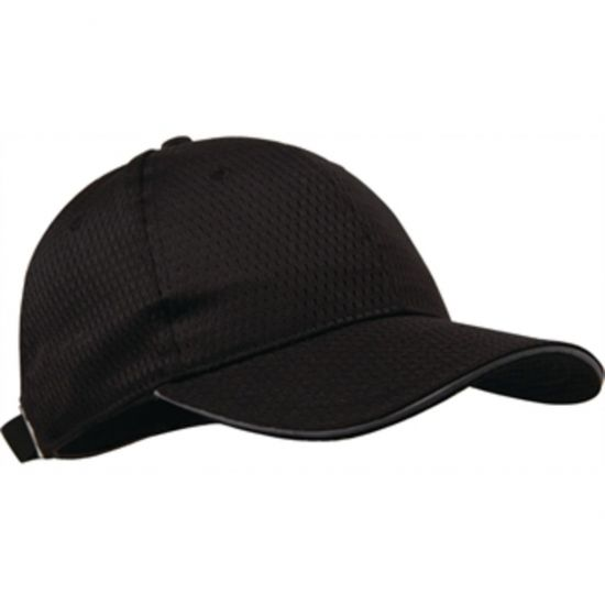 Colour By Chef Works Cool Vent Baseball Cap With Grey URO A942
