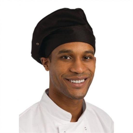 Chef Works Toque Chefs Hat Black URO A962