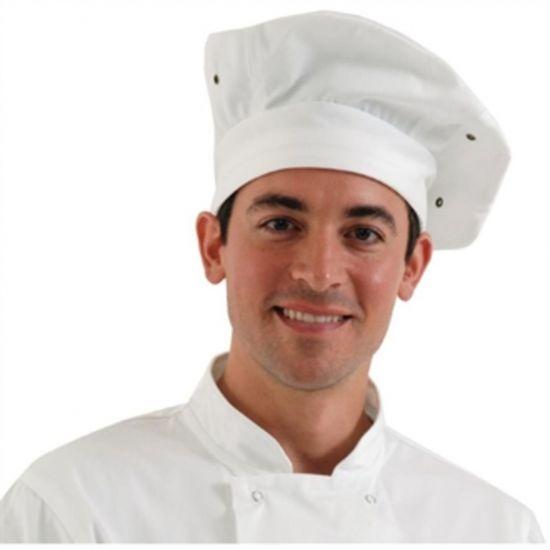 Chef Works Toque Chefs Hat White URO A963