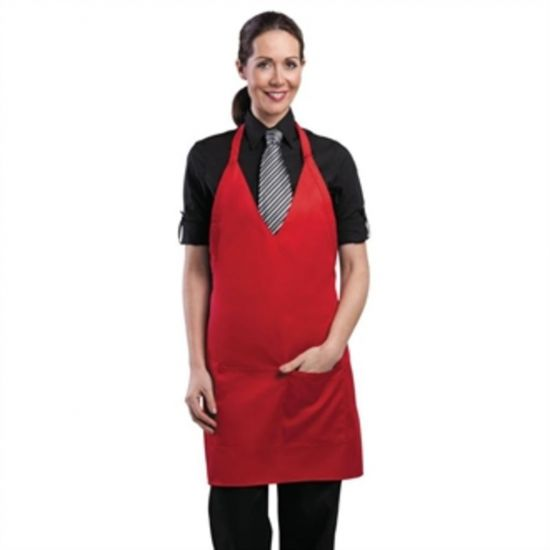 Uniform Works Tuxedo Apron Red URO A975