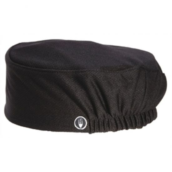 Chef Works Total Vent Beanie Black URO A978