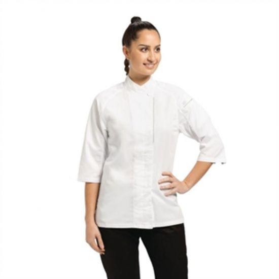 Chef Works Cool Vent Verona Womens Chefs Jacket White M URO B186-M