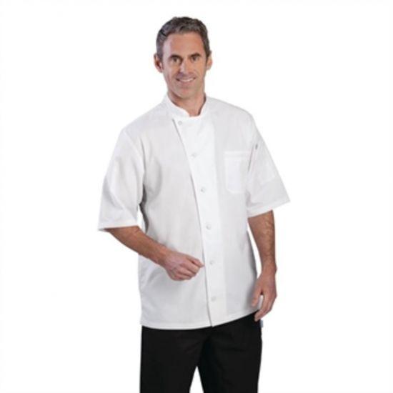 Chef Works Valais Signature Series Unisex Chefs Jacket White XL URO B205-XL
