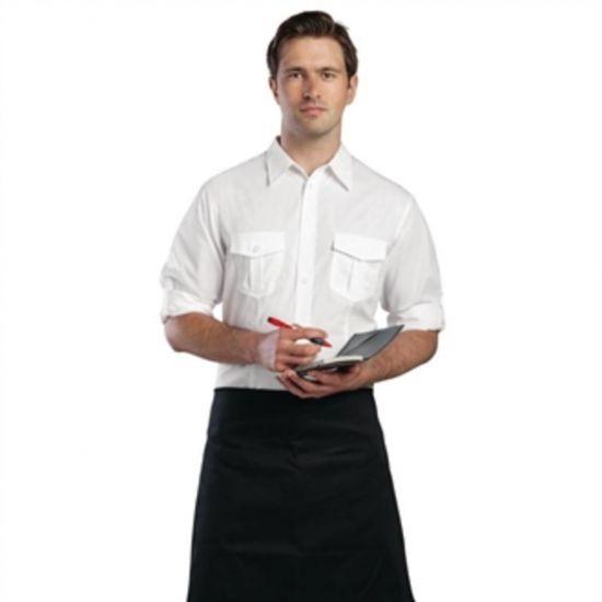 Uniform Works Mens Pilot Shirt White XL URO B211-XL