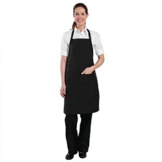 Chef Works Bib Apron Pinstripe URO B229