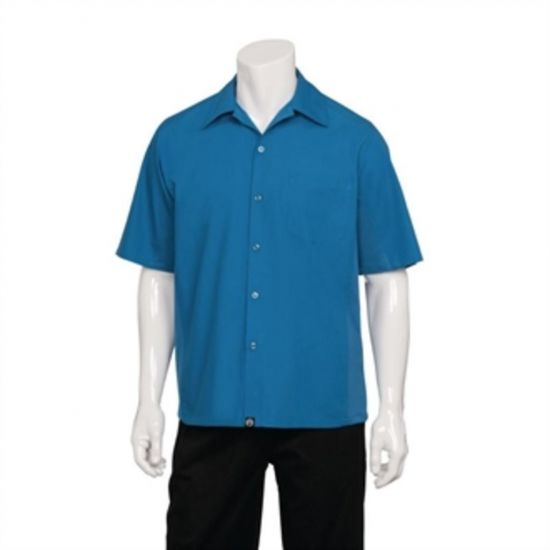 Chef Works Cool Vent Chef Shirt Blue M URO B388-M