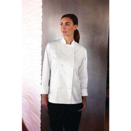 Chef Works Sofia Womens Chefs Jacket White M URO B664-M