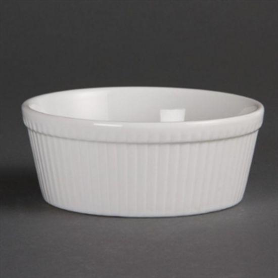 Olympia Whiteware Round Pie Dishes 134mm Box of 6 URO C042
