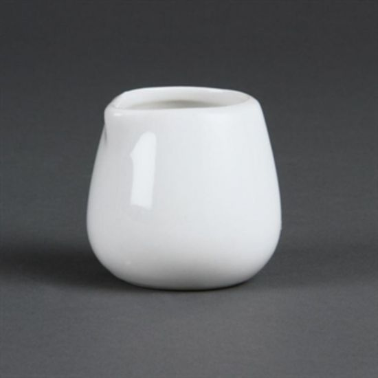 Olympia Whiteware Cream And Milk Jugs 43ml 1.5oz Box of 12 URO C203