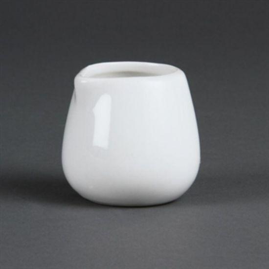 Olympia Whiteware Cream And Milk Jugs 85ml 3oz Box of 12 URO C204