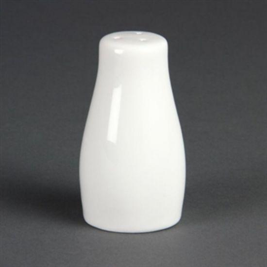 Olympia Whiteware Salt Shakers 90mm Box of 12 URO C213