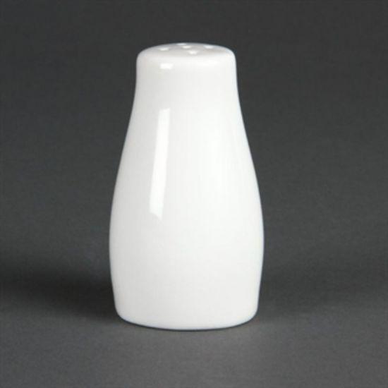 Olympia Whiteware Pepper Shakers 90mm Box of 12 URO C214