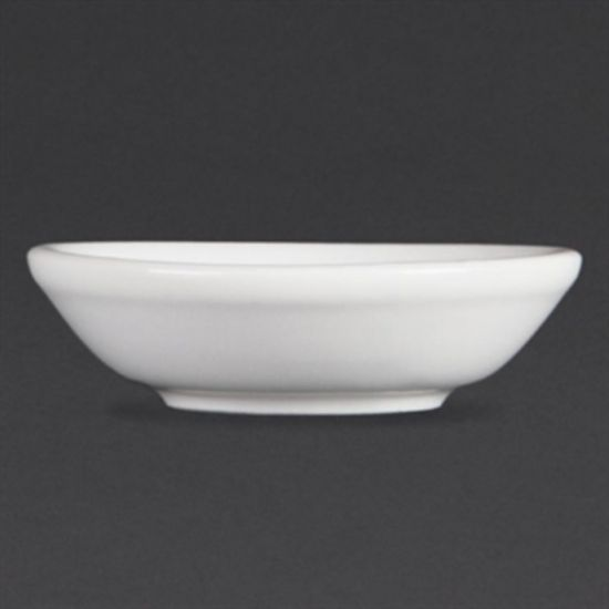 Olympia Whiteware Soy Dishes 74mm Box of 12 URO C320