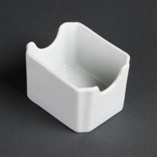 Olympia Whiteware Sachet Holders Box of 6 URO C346