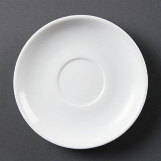 Olympia Whiteware Stacking Saucers Box of 12 URO CB468