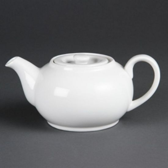 Olympia Whiteware Teapots 426ml 15oz Box of 4 URO CB473