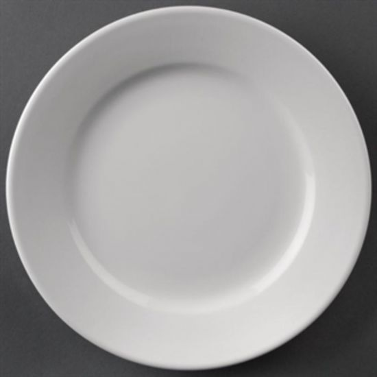 Athena Hotelware Wide Rimmed Plates 202mm Box of 12 URO CC207