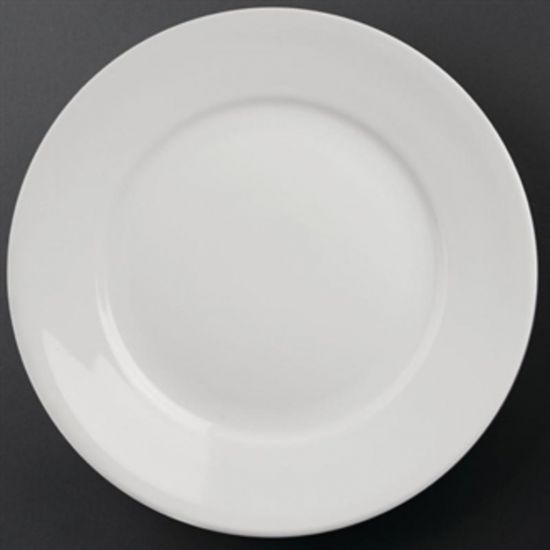 Athena Hotelware Wide Rimmed Plates 280mm Box of 6 URO CC210