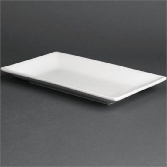 Olympia Serving Rectangular Platters 250x 150mm Box of 4 URO CC894